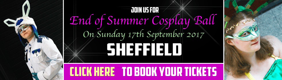 Yorkshire Cosplay Con End of Summer Ball in Sheffield