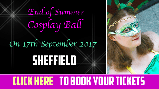 Join our End of Summer themed Cosplay Ball at the Royal Victoria Hotel in Sheffield