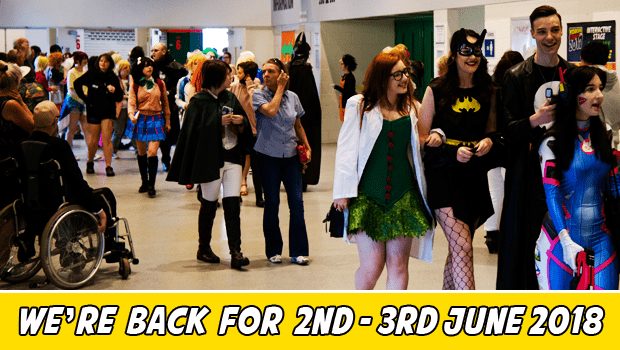 Join us for Yorkshire Cosplay Con 2018 on 2nd and 3rd of June 2018 at Sheffield